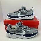 NIKE AIR ZOOM SPIRIDON MEN'S 16 GREY/WHITE/MIDNIGHT NAVY BLUE/BLACK 926955 007 $89.0 USD on eBay