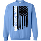 South Carolina SC American Flag Crewneck Pullover Sweatshirt