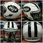 New York Jets NY Custom Painted Airbrushed Motorcycle Helmet on eBay