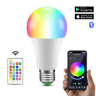 RGB RGBW E27 LED Bulb Light Color Changing Dimmable Bluetooth Remote Controller