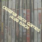 Original Microsoft XBOX Video Games. Games are $4.99 Each! $4.99 USD on eBay