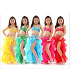 Children Professional Belly Dance Costume Set Performance Stage Outfit for Girls