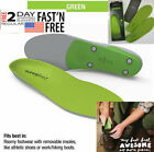 SUPERfeet GREEN Insoles,Professional-Grade High Arch Orthotic--Durable Support