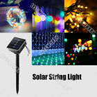 6/7/10/20m LED Solar String Light Net Light Graden Sakura Rose Cool /Warm /RGB