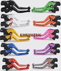 Shorty Brake Clutch Levers for Triumph SPEED FOUR/TRIPLE 1050 R SPRINT GT/RS/ST $19.46 USD on eBay
