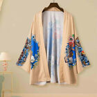 Lovers Retro Robe Loose National Print Short Sleeve T-Shirt Top Blouse HY