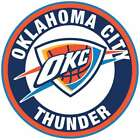 Oklahoma City Thunder Circle Logo Vinyl Decal / Sticker 5 sizes!! on eBay