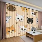 Cute Pink Nice Dogs 3D Curtain Blockout Photo Printing Curtains Drape Fabric