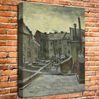 Vincent Van Gogh Backyards of Old Houses Oil Painting HD Print Canvas Home Decor