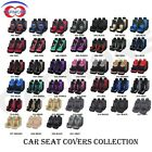 Full Front & Rear Universal Car Seat Covers Built-in Sponge Breathable Cushioned on eBay