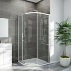 Offset Quadrant Shower Enclosure And Tray Single Door Glass Screen Larger Entry