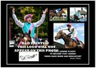 (#132)  frankie dettori  signed a4 photo mounted framed (reprint) #######