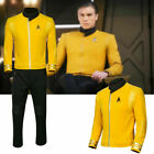 Star Trek Discovery Season 2 Starfleet Captain Pike Shirt Uniform Badge Costumes on eBay