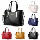 Women Leather Handbag Messenger Shoulder Bag Ladies Purse Tote Crossbody Satchel