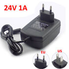24V 1A AC/DC Power Supply Adapter Transformer Wall Charger Plug led strip light