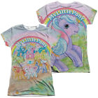MY LITTLE PONY CLASSIC Licensed Women's Junior Graphic Tee Shirt LARGE