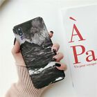 For Huawei P30 P20 Pro Lite Slim Shockproof Matte Marble Hard Phone Case Cover