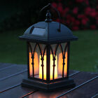 Solar Power Outdoor Garden Flickering LED Candle Lantern Light  1-6 PCS UK