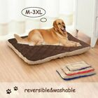 Pet Large Dog Bed Cat Mat Soft Plush Cushion Reversible Tear Resistant Washable