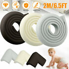 Extra Thick Baby Proofing Edge Guard Foam Protector Bumpers + 4 Corners Cushion