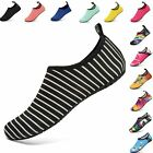 VIFUUR Water Sports Shoes Barefoot Quick-Dry Aqua Yoga Socks Slip-on for Unisex