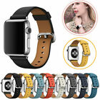 Kyпить Für Apple Watch iWatch Series 5/4/3/2 Leder Armband Strap Bracelet 38/40/42/44mm на еВаy.соm