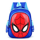 USA 3D Spiderman School Bag Backpack Three Colors Boys Kids Children Xmas Gifts