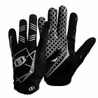 American Football Gloves Receiver Rugby Breathable Anti-slip League Tailgate