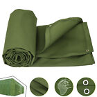 Multi-size Canvas Tarp Green Cotton Tarpaulin Trucks Supplies Firewood