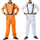 Fashion Astronaut Costume Adult NASA Space Flight Suit Dress Halloween Fanc H3W0 for sale  Shipping to Canada