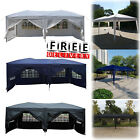 Party Tent 10'x20' Wedding Outdoor Patio Canopy Camping Gazebo Pavilion Event