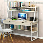 Multifunction Office PC Laptop Writing Table Computer Desk W/ Drawers Or Shelves