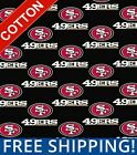 """San Francisco 49ers NFL Cotton Fabric - 60"""" Wide - Style# 6337 - Free Shipping!! $15.95 USD on eBay"""