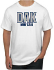 Dak Prescott T-Shirt - DAK NUFF SAID Dallas Cowboys NFL Uniform Jersey #4 $19.99 USD on eBay