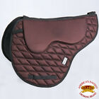 C-A209 Ta209A- Hilason English Memory Foam Saddle Pad With Anti-Slip - Brown