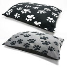 Fleece Dog Bed Large & Extra Large - Pet Washable Zipped Mattress Cover+Cushion