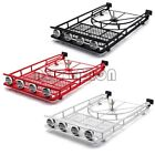 Cherokee Roof Luggage Rack with Tire Holder for 1:10 RC Axial SCX10 II 90046 D90