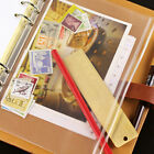 Transparent Pvc Storage Bag Traveler's Notebook Diary Day Planner Zipper Bag Wa