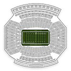 2 Nebraska Cornhuskers 50 yd ln Season Tickets Sec 26 Row 28 2 together @ the 50