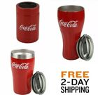 New Stainless Steel Vintage Classic Coca-Cola Tumbler Cup Retro Hot and Cold $32.97  on eBay