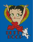 Cross stitch chart, pattern. Betty Boop, Valentine, Heart, Bimbo $16.97 CAD on eBay