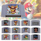 Mario Kart 64 Mary Party 1/2/3 Cartridge Console EUR PAL Version for  N64 Mario