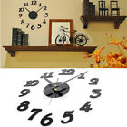 Fashion Wall Clock Boards Kitchen Home Office 3D Stickers DIY Wall Modern Home