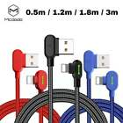 Mcdodo 3M Braided LED 90 Degree Fast Charging Lighting USB Cable for...