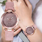 NEW Ladies fashion Korean Rhinestone Rose Gold Quartz Watch Female Belt Watches image