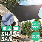 Sun Shade Sail Canopy Patio Garden Awning Shelter Waterproof + Free Rope 3