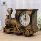 Bedroom Locomotive Mechanical Alarm Clock Creative Retro Train Table Desk Clock