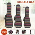 Guitar Gig Bag Ukulele Case Cover Guitar Backpack with Double Strap Parts Cotton