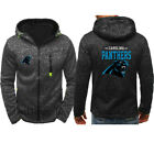Carolina Panthers Rugby Team Hoodie Zipper Printed Sweatshirt Jacket Coat Fans $18.99 USD on eBay