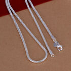 Kyпить Wholesale Price 925 Sterling Solid Silver 3MM Snake Chain Necklace For Pendant на еВаy.соm